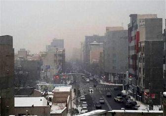 شدت آلودگی هوای تهران کم می شود