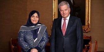 سفیر جدید ایران استوارنامه خود را تقدیم رئیس جمهور فنلاند کرد