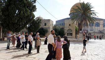 یورش صهیونیست ها به مسجد الاقصی