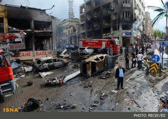 ۴۳ کشته در انفجارهای جنوب ترکیه