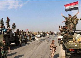 به دام افتادن گروه تروریستی وابسته به آمریکا در سوریه