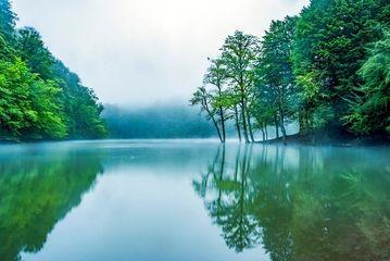 دریاچه چورت و طبیعتی بی نظیر/گزارش تصویری