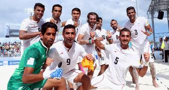 آخرین رتبه فوتبال ساحلی ایران در رنکینگ فیفا