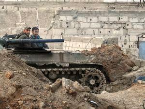 اعلام حکومت نظامی در غوطه شرقی توسط تروریست ها