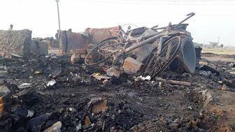 چادر مسلمانان روهینگیا در اردوگاه بنگلادش آتش گرفت