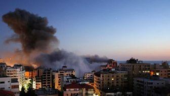 حملات اسرائیل به غزه با حمایت مستقیم آمریکا
