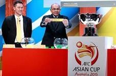 برنامه کامل دیدارهای جام ملتهای آسیا