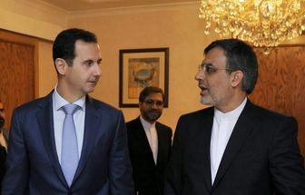 در ملاقات جابری انصاری با رییس جمهور سوریه چه گذشت؟