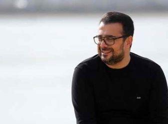 سلفی صمیمانه خواننده مشهور و سپند امیرسلیمانی /عکس