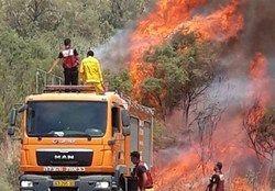 ادامه آتشسوزی در سرزمینهای اشغالی