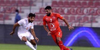 مصدومیت مهرداد فینال جام امیر قطر را از وی گرفت