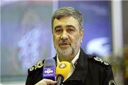 فرمانده ناجا: تمام ایران پشت سپاه ایستاده است