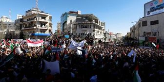 استقبال گرم فلسطینیان از بلینکن!+ تصاویر
