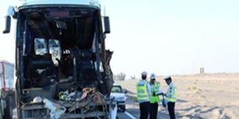 حریق یک دستگاه اتوبوس در بوشهر