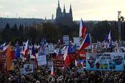 تظاهرات گسترده علیه نخستوزیر جمهوری چک