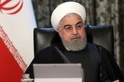 تماس ویدئوکنفرانسی روحانی با ۴ استاندار درباره آخرین اقدامات برای مقابله با کرونا