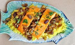 طرز تهیه شور ماهی پلو شام شب عید بوشهریها