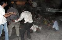 ۶۰ کشته و زخمی در انفجار بمب در یک عروسی