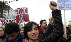 تظاهرات صد هزار نفری پرتغالی ها به سیاست های ریاضتی دولت