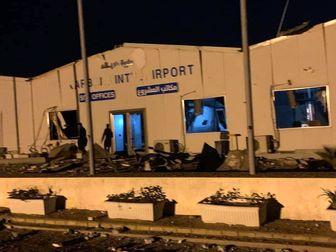 حمله هوایی ارتش آمریکا به فرودگاه کربلا + تصاویر