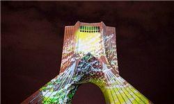 نصب 107 هزار متر نورپردازی ریسهای در مسیرهای اصلی شهر تهران