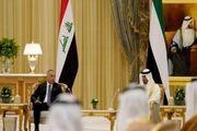 دیدار نخست وزیر عراق با ولیعهد ابوظبی