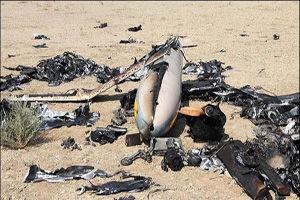 سرنگونی هواپیمای جاسوسی سعودی در جنوب عربستان