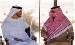 دیدار خصوصی ولیعهد ابوظبی با وزیر کشور عربستان