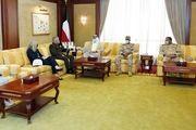 دیدار فرمانده تروریستهای «سنتکام» با وزیر دفاع کویت