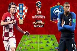 قصه جام جهانی به سر رسید/ ترکیب احتمالی کرواسی و فرانسه