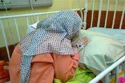 کمک کنیم پدر بجنوردی قطع شدن پای دخترش را نبیند