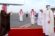 وزیر خارجه عربستان سعودی وارد دوحه شد