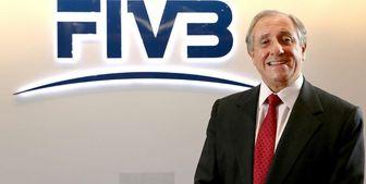 رئیس فدراسیون جهانی والیبال: کرونا والیبال را متوقف نکرد