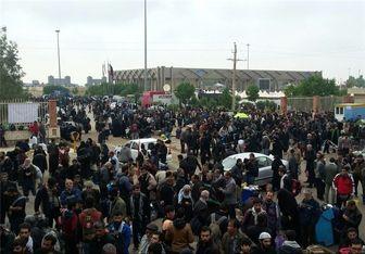 ورود 350 هزار زائر در 4 روز گذشته از طریق مرز مهران