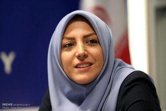 انتقاد شدید خانم مجری از علی ضیا/ عکس