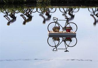 دوچرخه سواری رئیسجمهور در خیابان +عکس