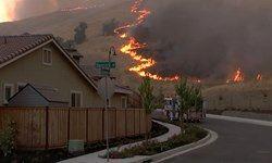 شمار مفقودین آتشسوزی کالیفرنیا به ۱۲۷۶ نفر رسید