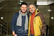 زوج مشهور سینما در اکران مردمی «پارادایس»/ گزارش تصویری