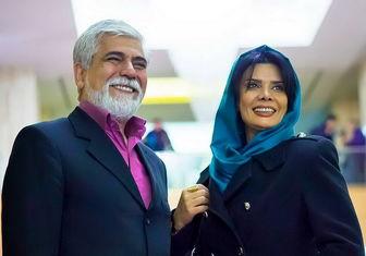 زوج بازیگر در مراسم افتتاح رستوران سیامک انصاری/ عکس
