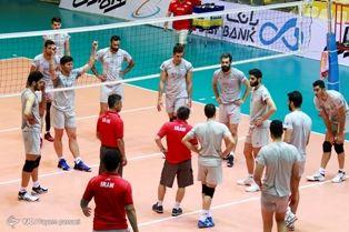 قطعی شدن دو بازی تدارکاتی تیم ملی والیبال