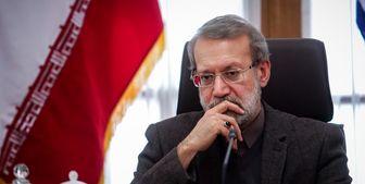 پیام تسلیت لاریجانی در پی درگذشت فاطمه رهبر