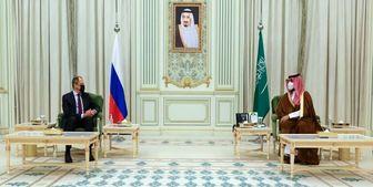 دیدار وزیر خارجه روسیه در ریاض با ولیعهد سعودی