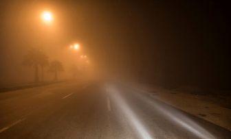 ترافیک پرحجم در جاده هراز/مه سنگین و بارش باران