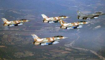 حضور جنگنده های ائتلاف آمریکا در مرزهای عراق و سوریه