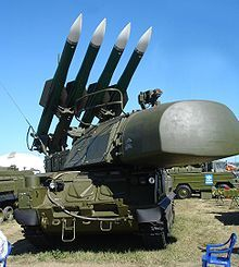 موشکیکه هواپیمای مالزیایی را سرنگون کرد + عکس