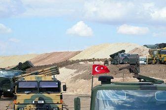 استقرار نیروهای نطامی کرد در مرز ترکیه
