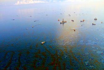 لکه نفتی در ۲۰ مایلی جزیره کیش مهار شد
