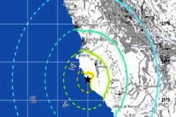 وقوع زلزله ۷.۱ ریشتری در پرو