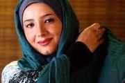 خسته نباشید خانم بازیگر به مدافعان سلامت/ عکس
