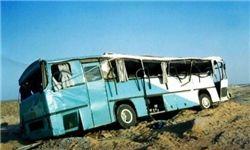 واژگونی ۲ اتوبوس در محورهای مواصلاتی قم